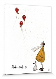 40x30cm Sam Toft #105369 Cat Baskets Poster Leinwand-Druck Bild